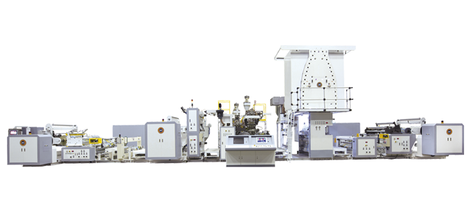 High Speed Multi-layer Plastic Co-extrusion Lamination Machines
